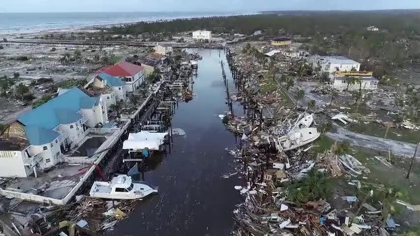 Truth or Not? Drone video of devastation left in Mexico Beach