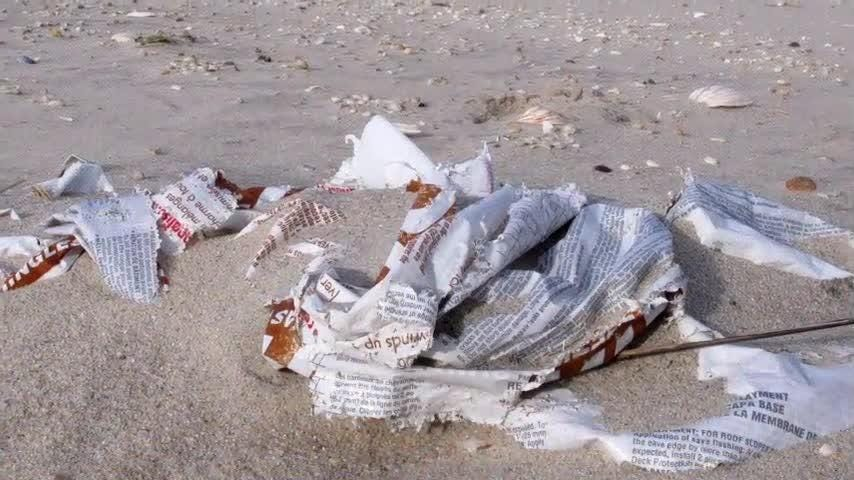 President Donald Trump Thursday signed a bill, the Save Our Seas Act, to amend the current Marine Debris Act in an effort to promote international action to reduce marine pollution. (Oct. 11)