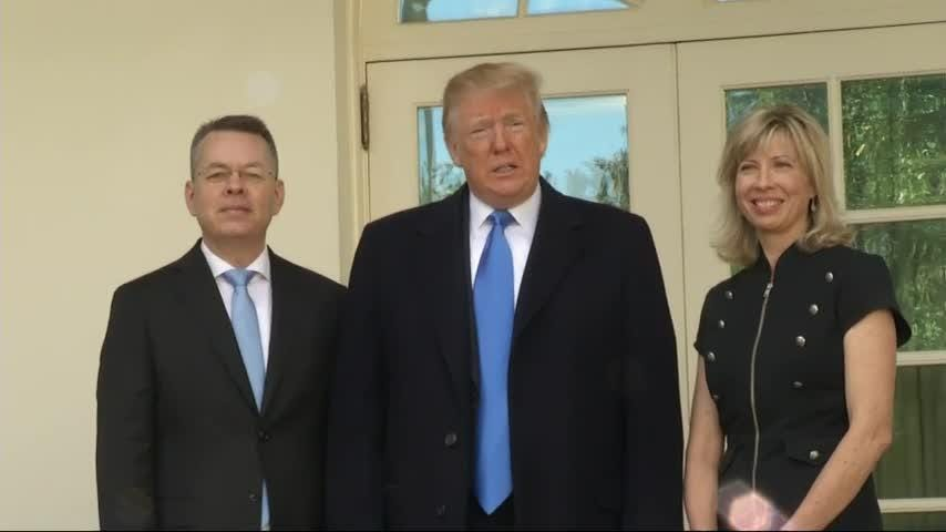 Supreme Court and Andrew Brunson return show God sent Trump 'for such a time as this'