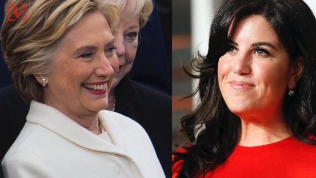 Former First Lady Hillary Clinton and Monica Lewinsky are at odds over whether former President Bill Clinton abused his power when he had an affair with the former White House intern. Veuer's Chandra Lanier has the story.