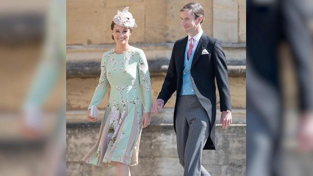 Pippa Middleton welcomed her first child with husband James Matthew on Monday, Oct. 15, 2018.