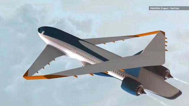 The PARSIFAL project engineers hope to get these fuel-efficient planes off the ground by 2035.