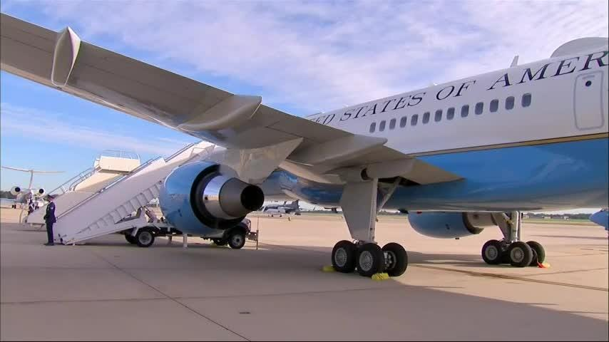 First lady Melania Trump's plane turns around after 'mechanical issue' on board