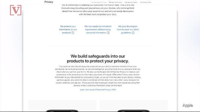 Apple launches privacy website to show exactly what data it has on you