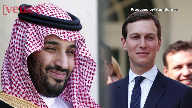 White House Senior Advisor Jared Kushner reportedly communicated with Saudi Crown Prince Mohammed bin Salman via WhatsApp. Veuer's Sam Berman has the full story.