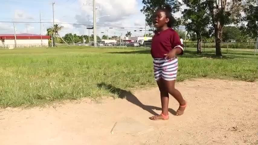 For more than a decade, a medical worker and her husband in Florida have picked up kids after school for kickball games that form a safe haven in a high-crime suburb of Miami.(Oct.18)