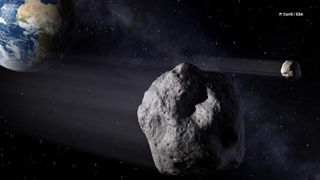 When Asteroid 2018 EB flew by Earth in early October, scientists noticed it was a unique double asteroid.