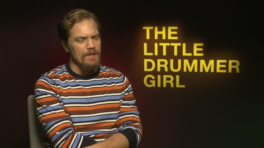 """Florence Pugh, Michael Shannon and Alexander Skarsgard, stars of new BBC spy thriller """"The Little Drummer Girl,"""" talk about their own television watching habits and how they don't have enough time to binge. (Oct. 19)"""