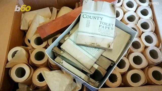 When you think about memorabilia from the second world war you don't necessarily think about toilet paper, do you? Buzz60's Maria Mercedes Galuppo has more.