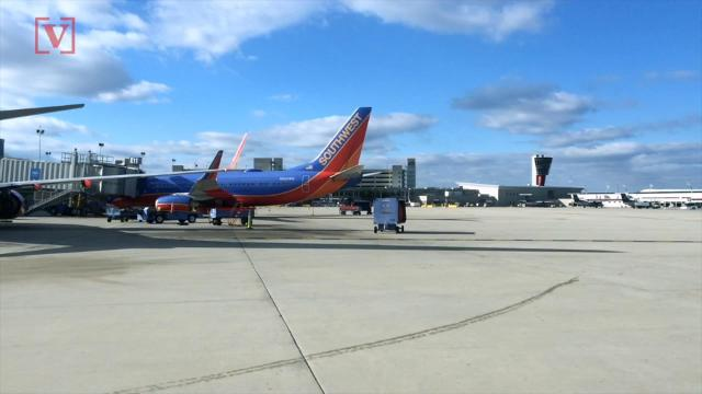 "A Texas man is facing a felony charge after causing a Southwest flight to be diverted because he wouldn't stop ""playing footsies"" with the woman seated next to him."