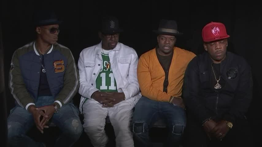 Four members of legendary group New Edition - Bobby Brown and Bell Biv DeVoe, now calling themselves RBRM - talk touring together again after more than 30 years in the business. (Oct. 20)