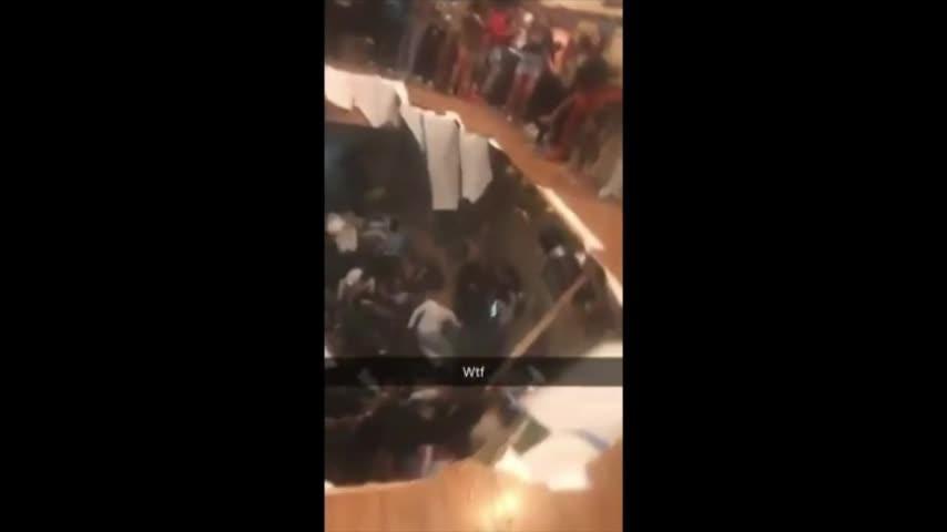 Survivors describe floor collapse at party