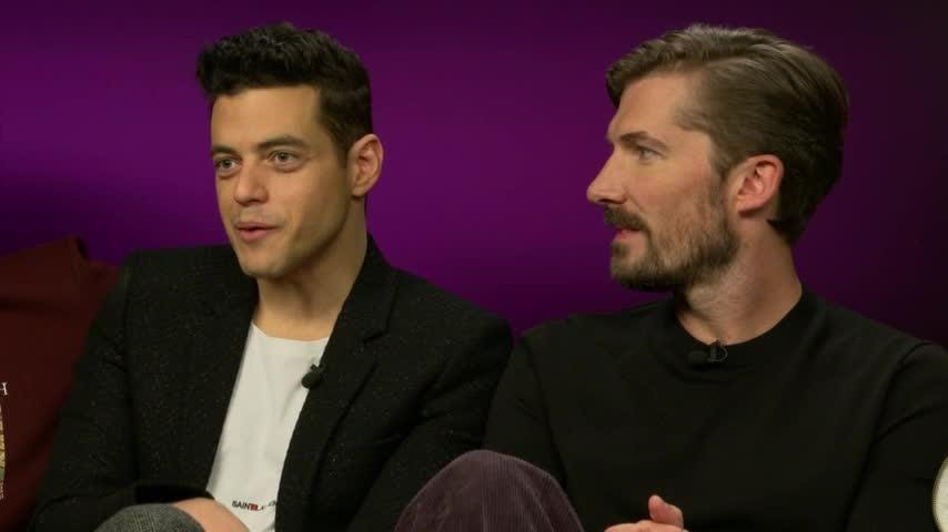 """Actor Rami Malek had to learn the piano before playing iconic singer Freddie Mercury in new biopic """"Bohemian Rhapsody."""" His bandmate co-stars were equally as inexperienced with their instruments before they were cast. (Oct. 22)"""