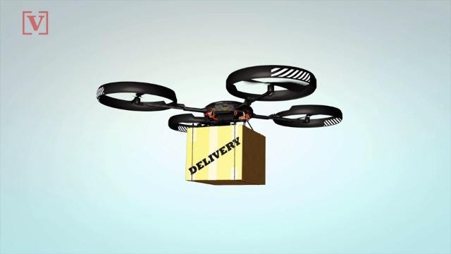 A new report says Uber plans to roll out a fleet of food-delivery drones by 2021.