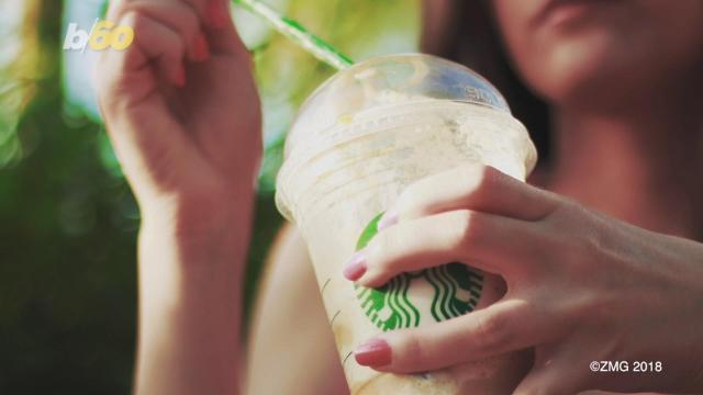 Yes, Starbucks sells sugar-packed drinks that can sometimes have sooo many calories. But if you choose wisely, the coffee retail giant might have some drinks to help you prior, during and after a workout. Susana Victoria Perez has more.
