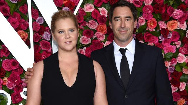 Amy Schumer vows to wear 'hospital underwear for life' following the birth of son Gene