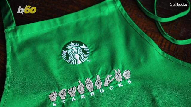 starbucks sign language store opens for first time in us