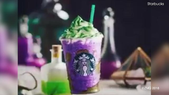 Starbucks Christmas Drinks 2018.Starbucks Releases The Witch S Brew Frappuccino