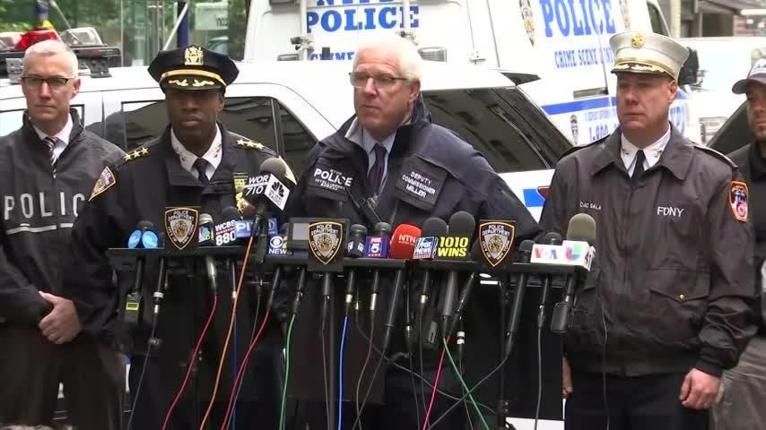 NYPD confirms pipe bomb at NYC postal facility