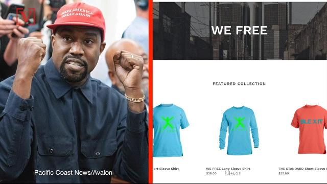 f9e60849bb82c Kanye West distances himself from Blexit and Trump   I ve been used to  spread messages