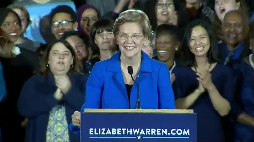 Mass. re-elects Elizabeth Warren to Senate
