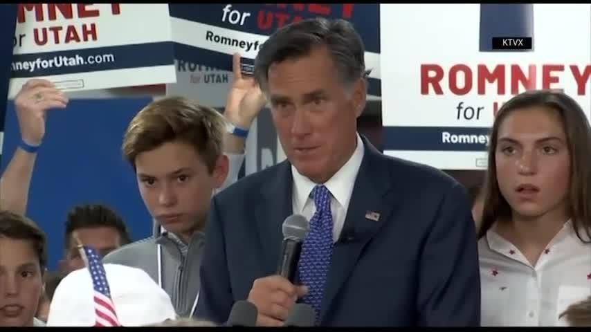 Mitt Romney wins U.S. Senate bid