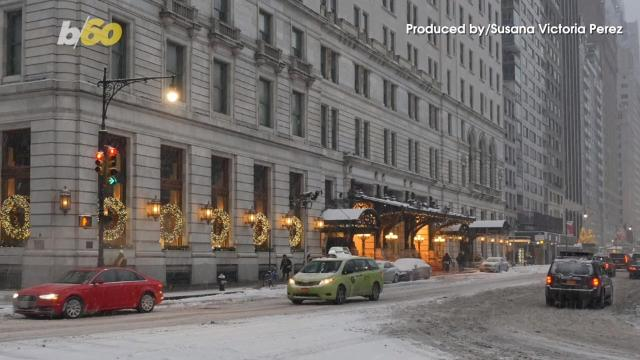 If the idea of hosting the entire family for Christmas this year seems like a drag, you can still get in the holiday spirit by staying in one of these hotels. Buzz60's Susana Victoria Perez has more.