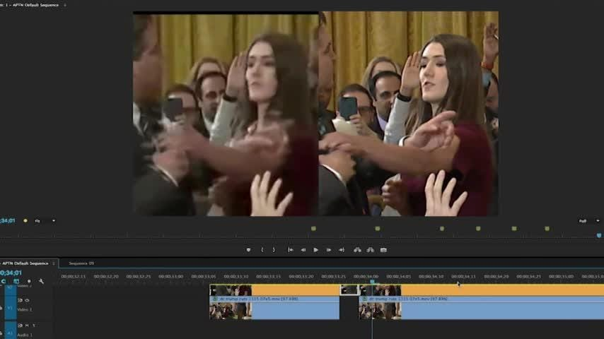Truth or Not? Expert: Sarah Sanders tweeted altered Acosta video