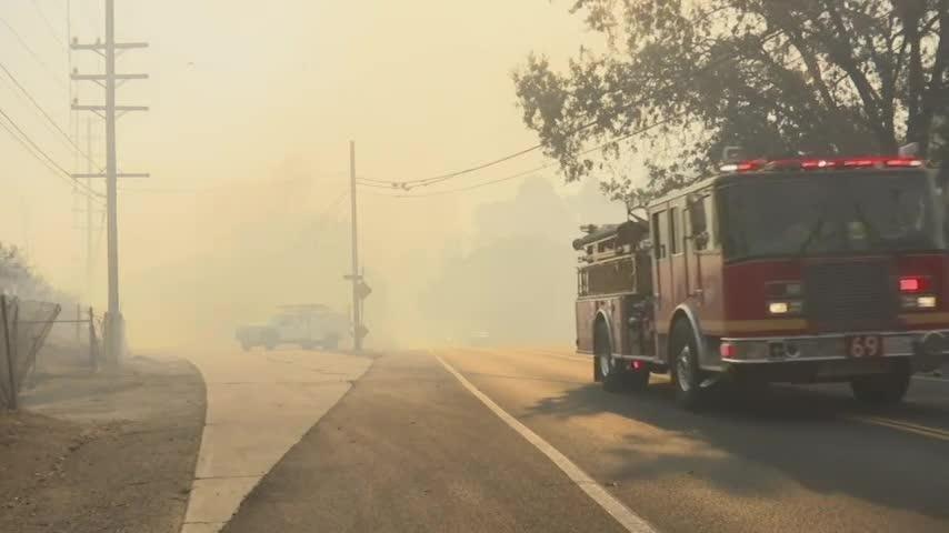 Agoura Hills among 6 major California fires