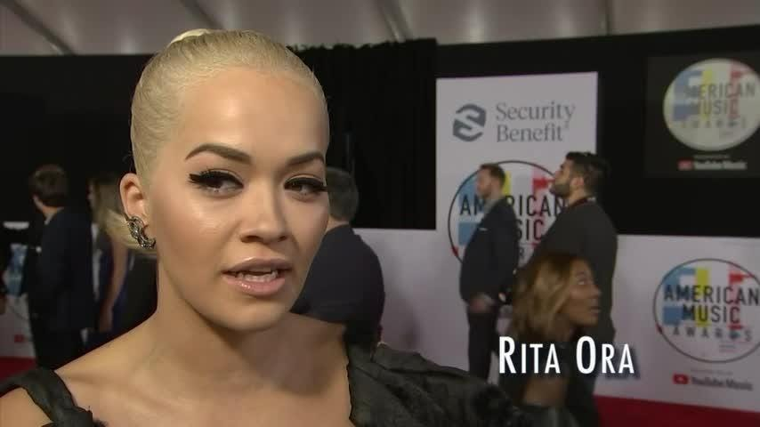 British singer Rita Ora's first time performing in public saw her thrown out of a bar for being underage. (Nov. 14)
