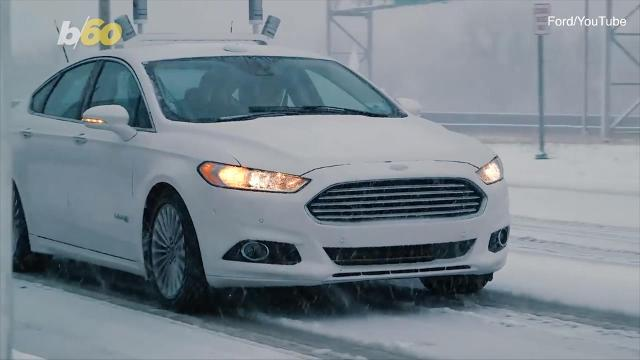 Ford and Walmart teaming up for driverless car deliveries. Elizabeth Keatinge has more.