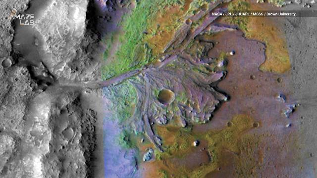In search for life on Mars, NASA's 2020 Rover mission will land in an ancient lakebed