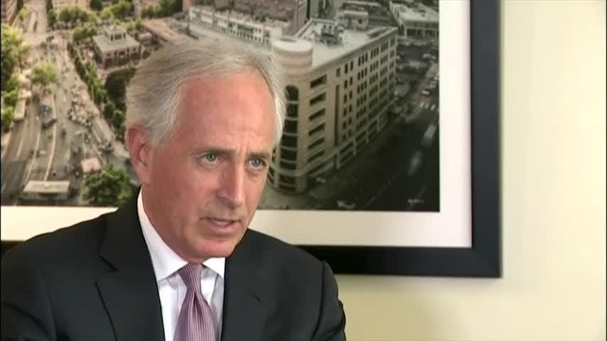 Senate Foreign Relations Committee Chairman Bob Corker denounced President Donald Trump's decision to refrain from further punishing Saudi Arabia for the death of journalist Jamal Khashoggi. (Nov. 21)
