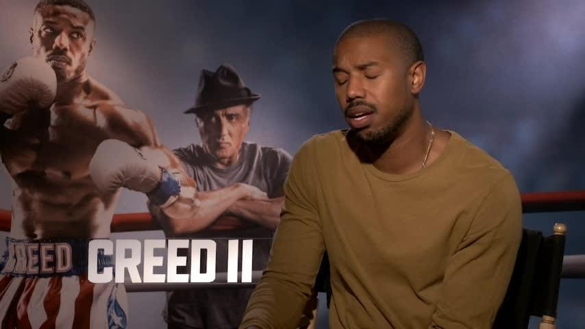 "Michael B. Jordan on getting in shape to take on Victor Drago in ""Creed II"": ""I didn't want it to be a David and Goliath thing."" (Nov. 22)"