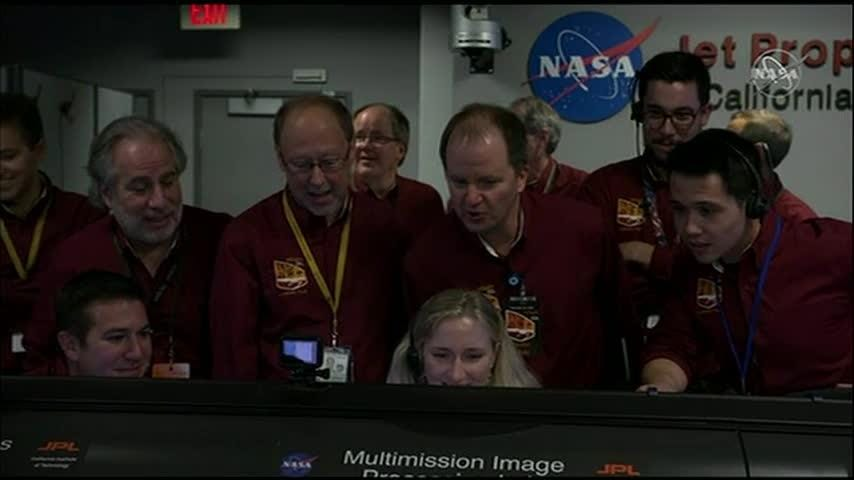 NASA's 'InSight' spacecraft touches down on Mars