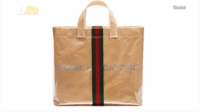 b3adf846194 Gucci thinks this brown paper bag is fashion