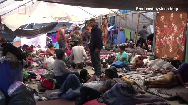 Mexican Un Officials Worry About Health Of Caravan Migrants At Border