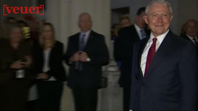 Former Attorney General Jeff Sessions jokes about getting 'pink slip'