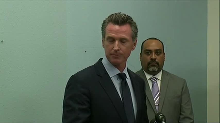 Gavin Newsom says 'sense of urgency' needed at border