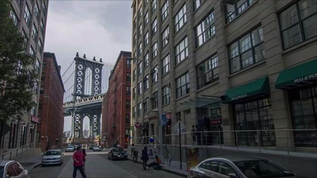 Locals and tourists alike flock to the cobblestone of Washington Street in Brooklyn's DUMBO neighborhood to spot one of the city's most perfect views.