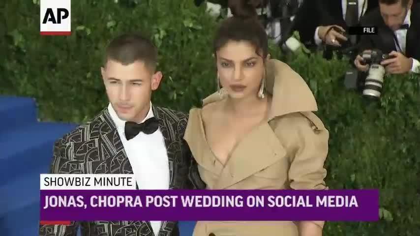 See Priyanka Chopra\'s stunning wedding dress and 75-foot long veil