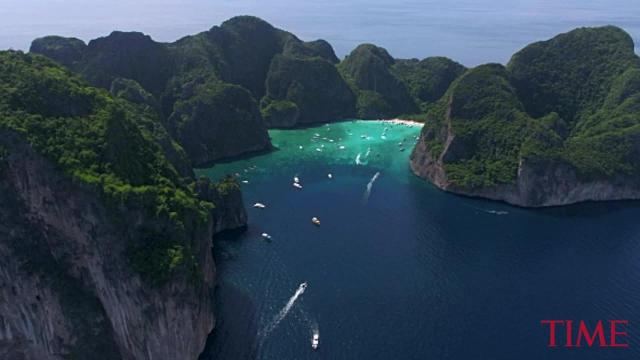 The Phi Phi Islands in Thailand are reportedly facing a shortage of clean water due to an overabundance of visitors.