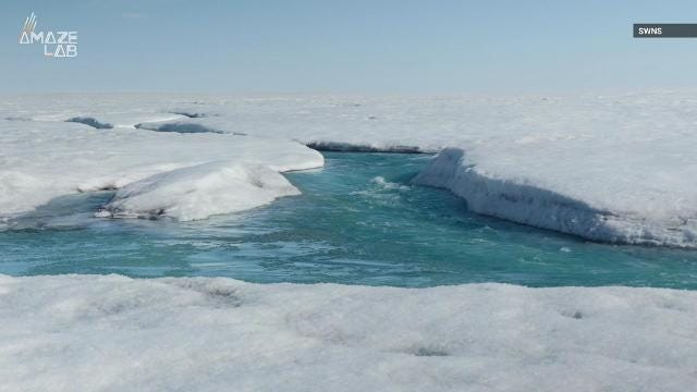 Greenland's ice sheets are melting at an 'off the charts' rate