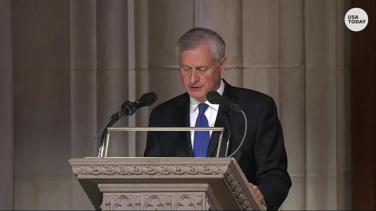 Presidential historian and author, Jon Meacham, tells revealing stories from President George H.W. Bush's long life.