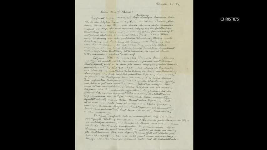 Einstein's 'God letter' sells for $2.4 million