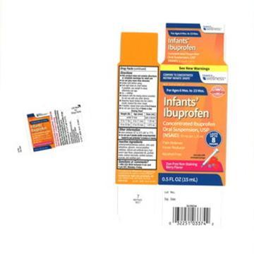 Infant ibuprofen recall: Tris Pharma pulls lots for Walmart, CVS