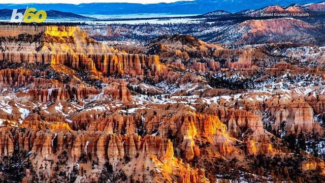 Don't be afraid of the outdoors this winter… it's a great time to avoid the crowds and see the unique beauty U.S. National Parks have to offer in the colder months.