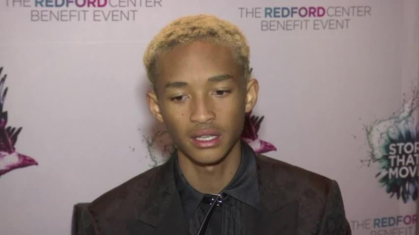 Jaden Smith celebrates his birthday with free vegan food truck for the homeless