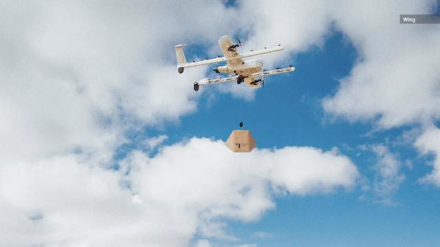 After 18 months of tests in Australia, a drone delivery service owned by Google's parent company Alphabet Inc. will take flight in Helsinki, Finland.