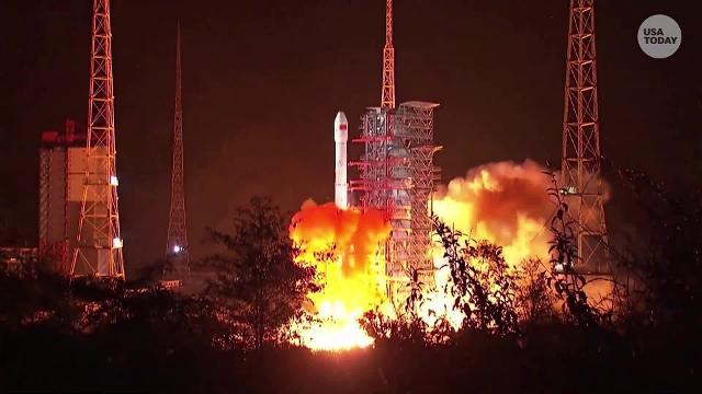 China launched a ground-breaking mission expected to make first-ever soft landing on the largely unexplored far side of the moon